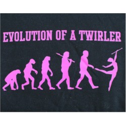 "Hettejakke ""Evolution of a twirler"""